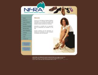 nationalfootwearretailers.com.au screenshot