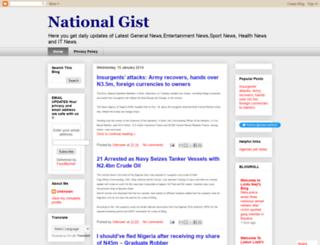 nationalgist.blogspot.com screenshot