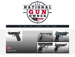 nationalgunowner.org screenshot