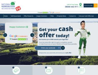 nationalhomebuyers.co.uk screenshot