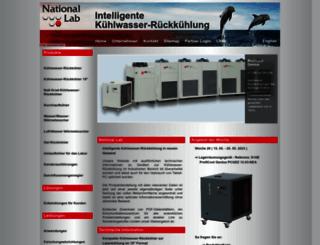 nationallab.eu screenshot