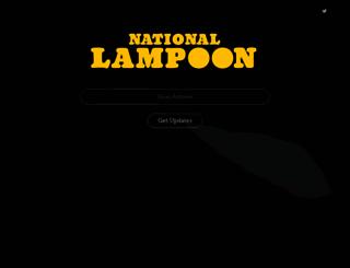 nationallampoon.com screenshot