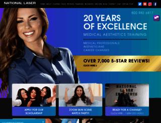 nationallaserinstitute.com screenshot