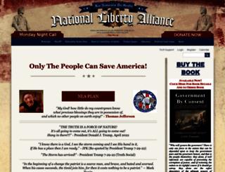 nationallibertyalliance.org screenshot
