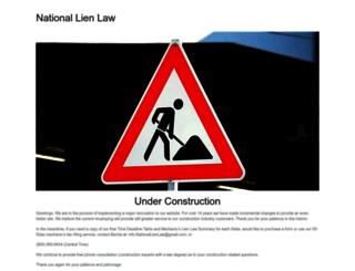 nationallienlaw.com screenshot