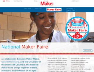 nationalmakerfaire.com screenshot