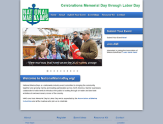 nationalmarinaday.org screenshot