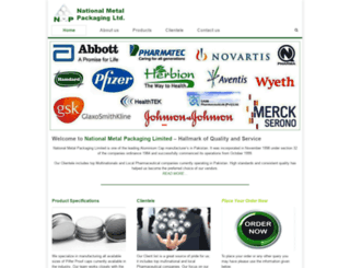nationalmetalpackaging.com screenshot