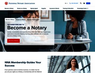 nationalnotary.org screenshot