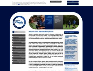 nationalobesityforum.org.uk screenshot