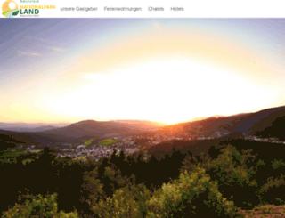 nationalpark-land.de screenshot