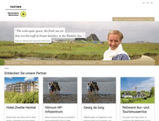 nationalpark-partner-sh.de screenshot