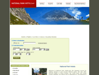 nationalparkhotels.net screenshot