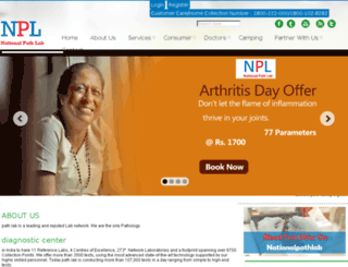 nationalpathlabindia.com screenshot