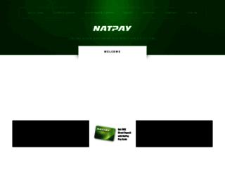 nationalpayment.com screenshot