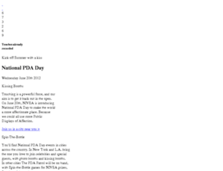 nationalpdaday.com screenshot