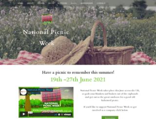 nationalpicnicweek.co.uk screenshot