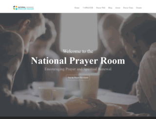 nationalprayerroom.com screenshot