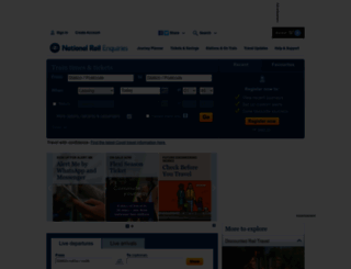 nationalrail.co.uk screenshot