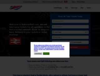 nationalrail.com screenshot