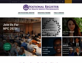 nationalregister.org screenshot