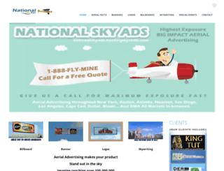 nationalskyads.com screenshot