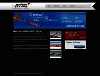 nationalskysigns.com screenshot