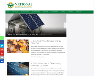 nationalsolarproject.org screenshot