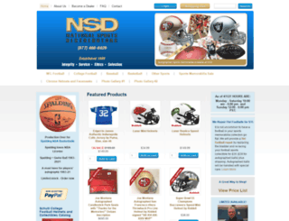 nationalsportsdistributors.com screenshot
