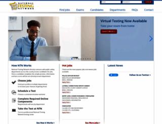 nationaltestingnetwork.com screenshot