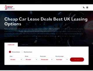 nationalvehiclesolutions.co.uk screenshot