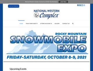 nationalwesterncomplex.com screenshot