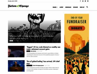 nationofchange.org screenshot