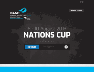 nationscup2013.dk screenshot