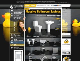 nationwide-bathrooms.co.uk screenshot