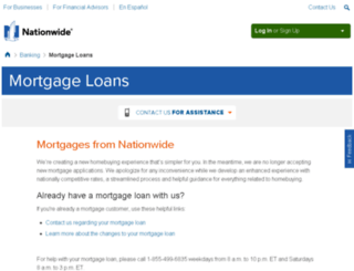 nationwideadvantagemortgage.com screenshot