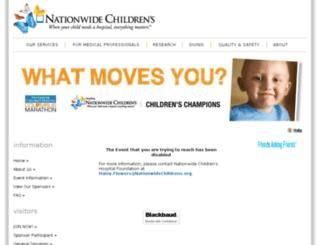 nationwidechildrens.kintera.org screenshot