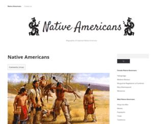 native-americans.org screenshot