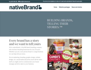 nativebrand.co.uk screenshot