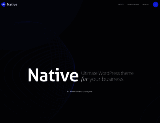 nativewptheme.net screenshot