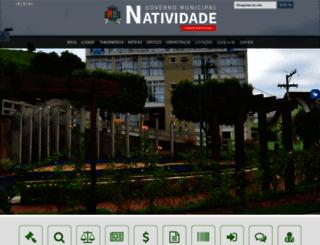 natividade.rj.gov.br screenshot