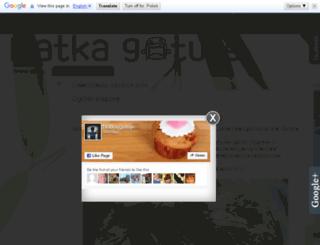natkagotuje.pl screenshot