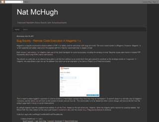 natmchugh.blogspot.com screenshot