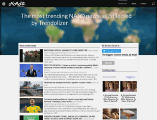 nato.trendolizer.com screenshot