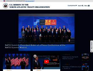 nato.usmission.gov screenshot