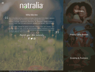 natralia.com screenshot