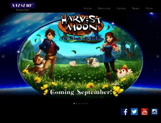 natsume.com screenshot