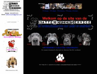 natteneuzenservice.nl screenshot