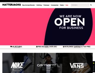 natterjacks.com screenshot