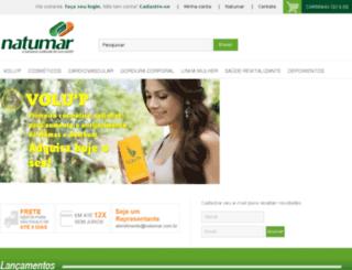 natumar.ecshop.com.br screenshot